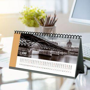 تقویم رومیزی 1400 آزاده